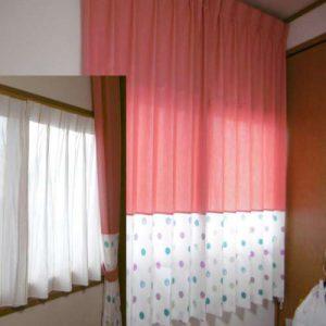 子供部屋のカーテンリメイク☆