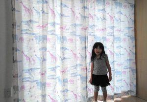 それぞれのお部屋に合ったカーテンの取付工事